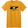 Tennessee Best Whiskey In The World T-Shirt Gold Hanes Nano 4980 Ringspun Cotton T Shirt
