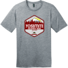 Yosemite National Park T-Shirt Heathered Steel District Perfect Weight Tee DT104