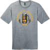 Breakfast Of Champions Beer T-Shirt Heathered Steel District Perfect Weight Tee DT104