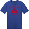 Gulf State Park Alabama Camping T-Shirt Deep Royal District Perfect Weight Tee DT104