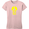 Hippie Chick Peace T-Shirt Dusty Lavender District Women's Very Important Tee DT6002