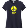 Hippie Chick Peace T-Shirt New Navy District Women's Very Important Tee DT6002