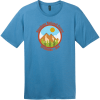 Shoshone National Forest Wyoming T-Shirt Clean Denim District Perfect Weight Tee DT104