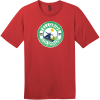 Telluride Colorado Snowboard T-Shirt Classic Red District Perfect Weight Tee DT104