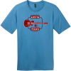 Austin Texas Guitar Live Music Capital T-Shirt Clean Denim District Perfect Weight Tee DT104