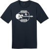 Austin Texas Live Music Capital Guitar T-Shirt New Navy District Perfect Weight Tee DT104