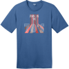 Born In The 70s T-Shirt Maritime Blue District Perfect Weight Tee DT104