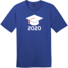 Class of 2020 T-Shirt Deep Royal District Perfect Weight Tee DT104