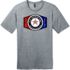 Design Your Own T-Shirts At US Custom Tees Heathered Steel District Perfect Weight Tee DT104