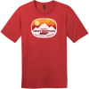 Gatlinburg Smoky Mountains Tennessee T-Shirt Classic Red District Perfect Weight Tee DT104
