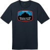 Grand Teton National Park Wyoming T-Shirt New Navy District Perfect Weight Tee DT104