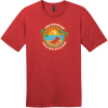 John Pennekamp Coral Reef State Park T-Shirt Classic Red District Perfect Weight Tee DT104