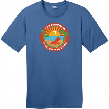 John Pennekamp Coral Reef State Park T-Shirt Maritime Blue District Perfect Weight Tee DT104