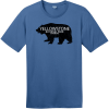 Yellowstone National Park Wyoming Bear T-Shirt Maritime Blue District Perfect Weight Tee DT104