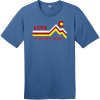 Aspen Pitkin County Colorado T-Shirt Maritime Blue District Perfect Weight Tee DT104