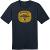 Park City Utah Wasatch Back T-Shirt New Navy District Perfect Weight Tee DT104