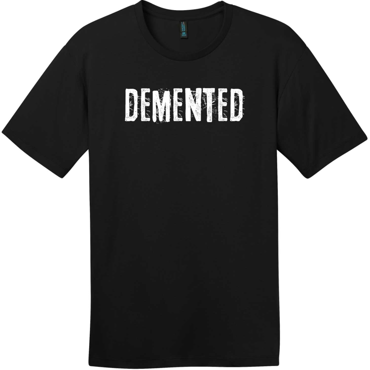 Demented T-Shirt Jet Black District Perfect Weight Tee DT104