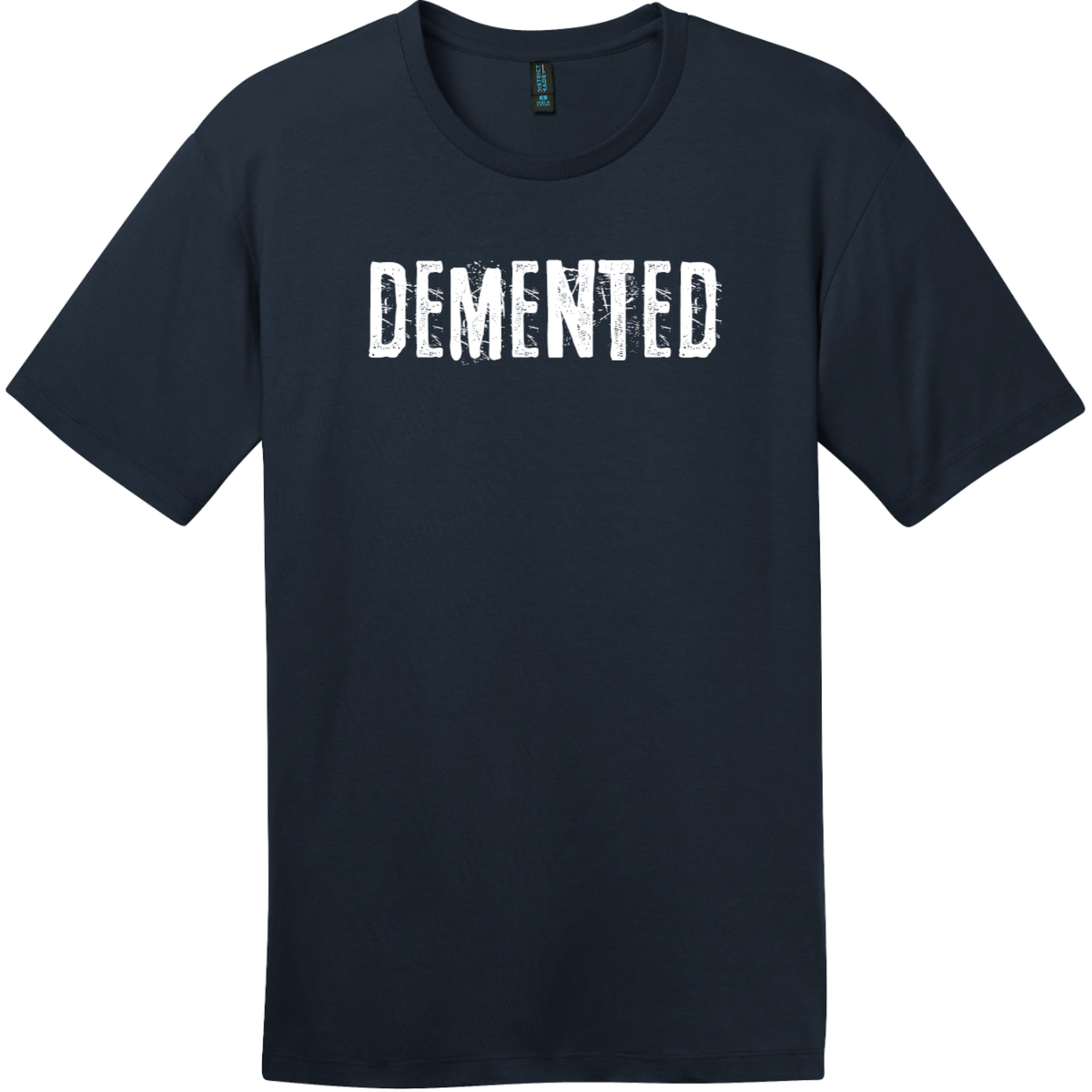Demented T-Shirt New Navy District Perfect Weight Tee DT104