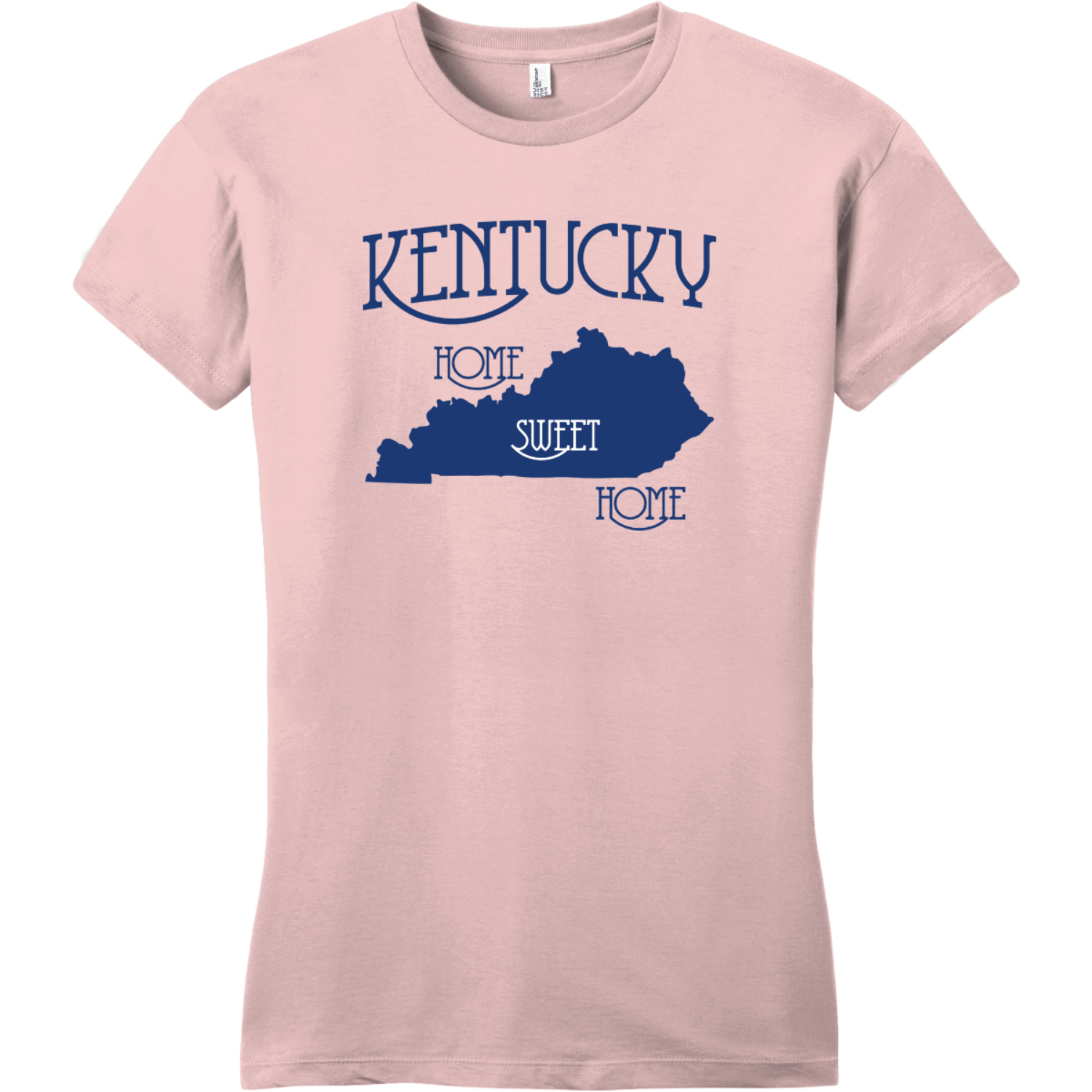 Kentucky Country Home Sweet Home T-Shirt Dusty Lavender District Women's Very Important Tee DT6002