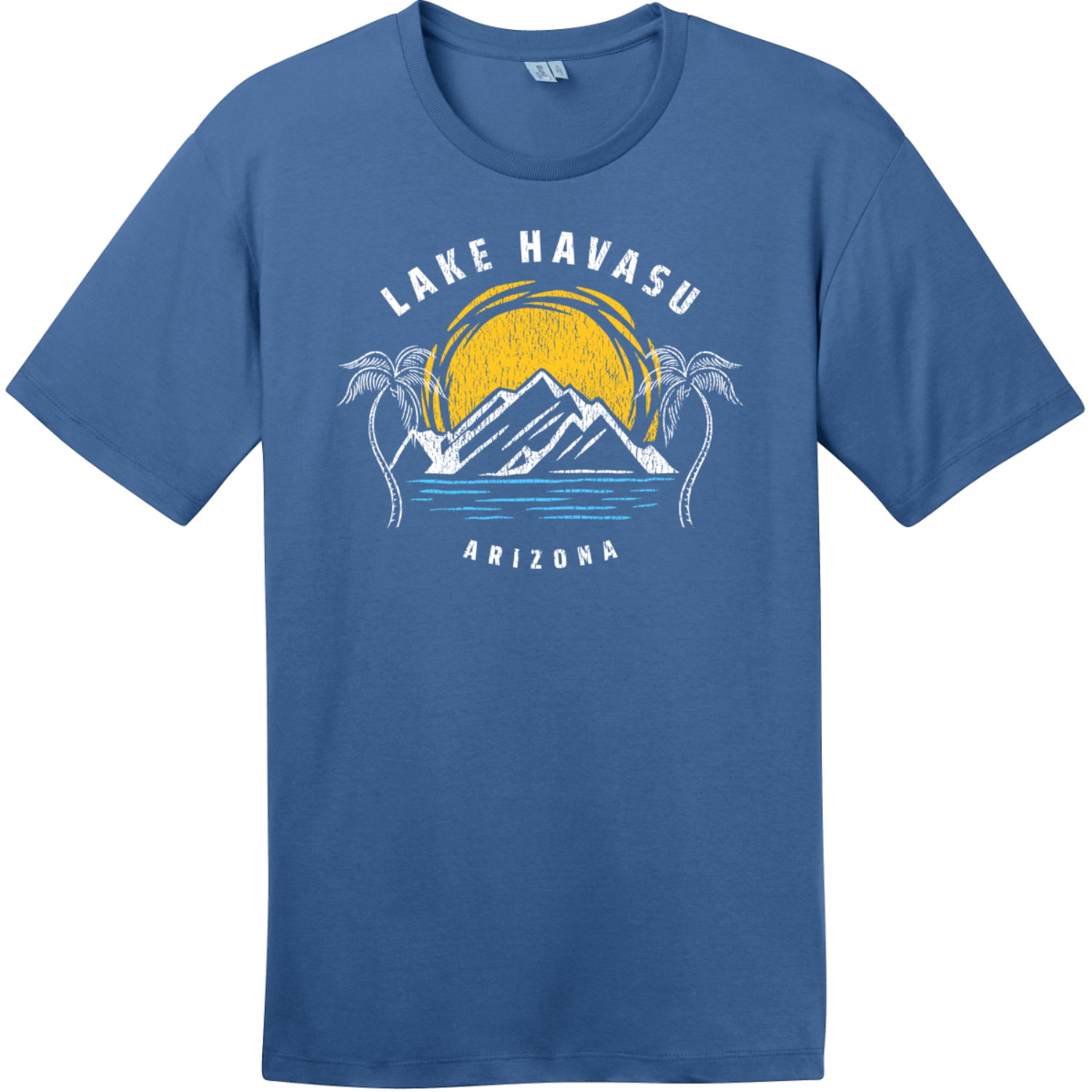Lake Havasu Arizona T-Shirt Maritime Blue District Perfect Weight Tee DT104