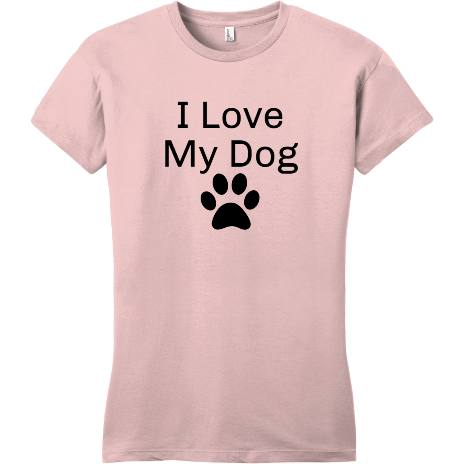 I Love My Dog Women's T-Shirt Dusty Lavender District Women's Very Important Tee DT6002
