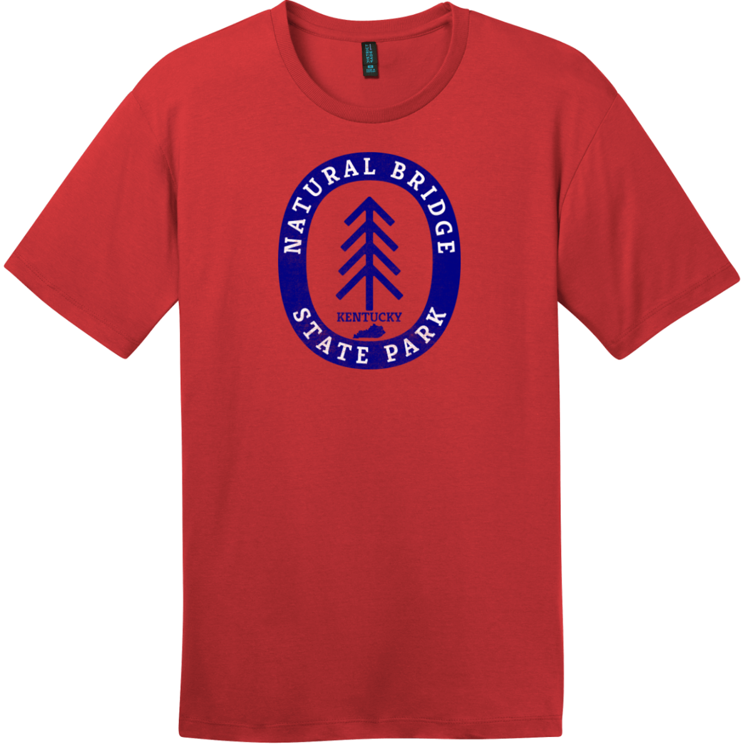 Natural Bridge State Park T-Shirt Classic Red District Perfect Weight Tee DT104