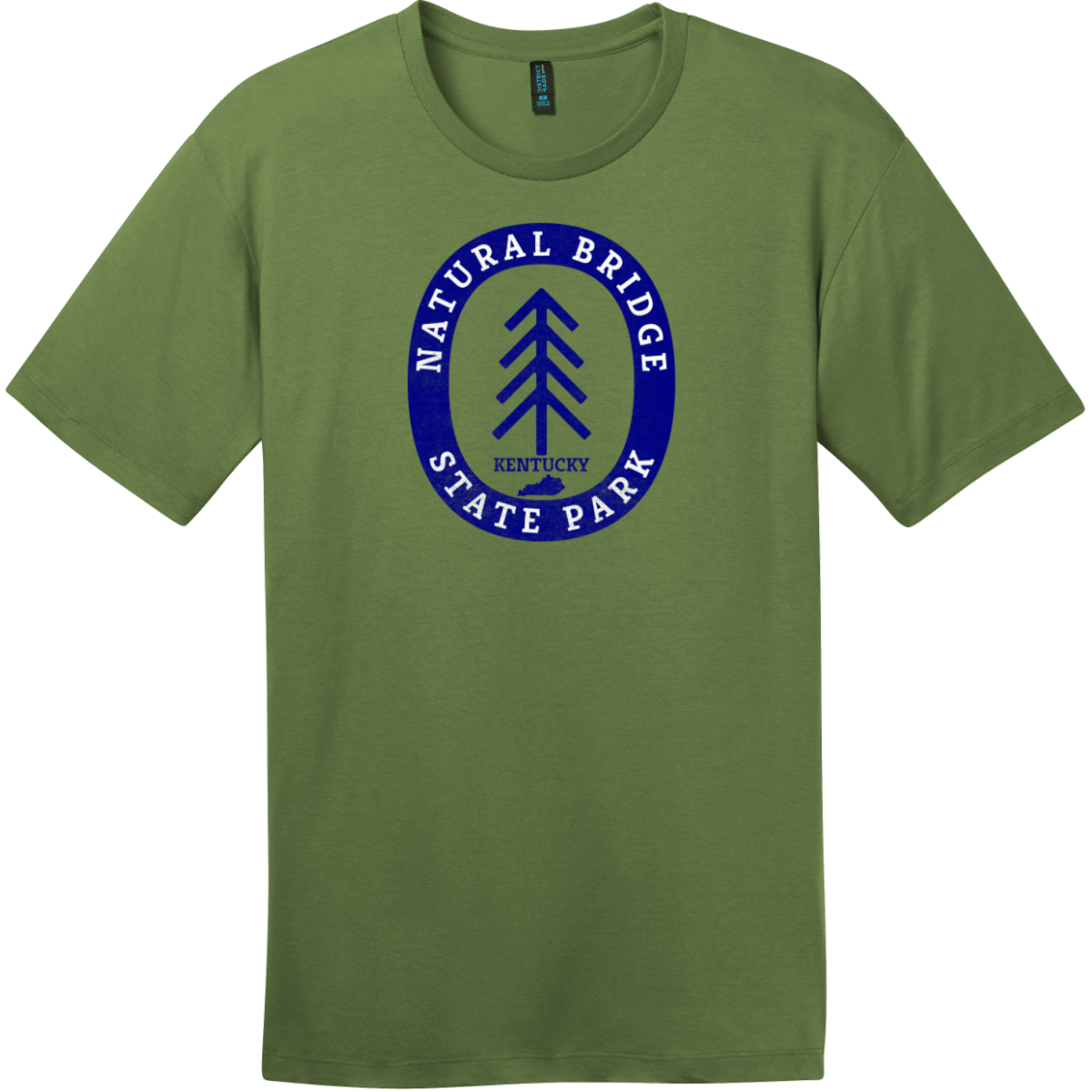 Natural Bridge State Park T-Shirt Fresh Fatigue District Perfect Weight Tee DT104