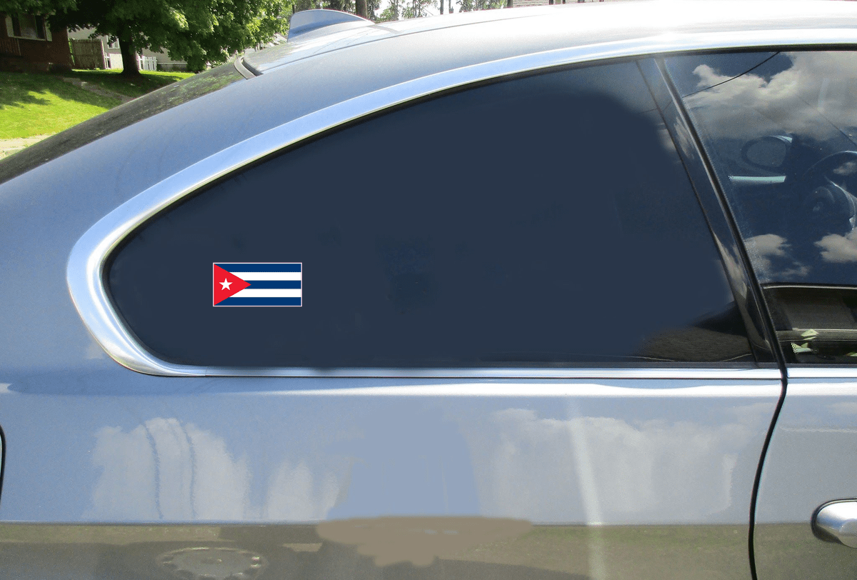 Cuba Flag Sticker Car Sticker