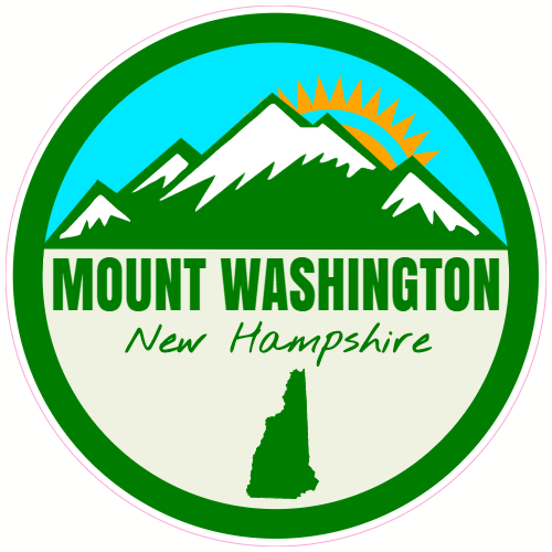 Mount Washington New Hampshire Sticker | U.S. Custom Stickers