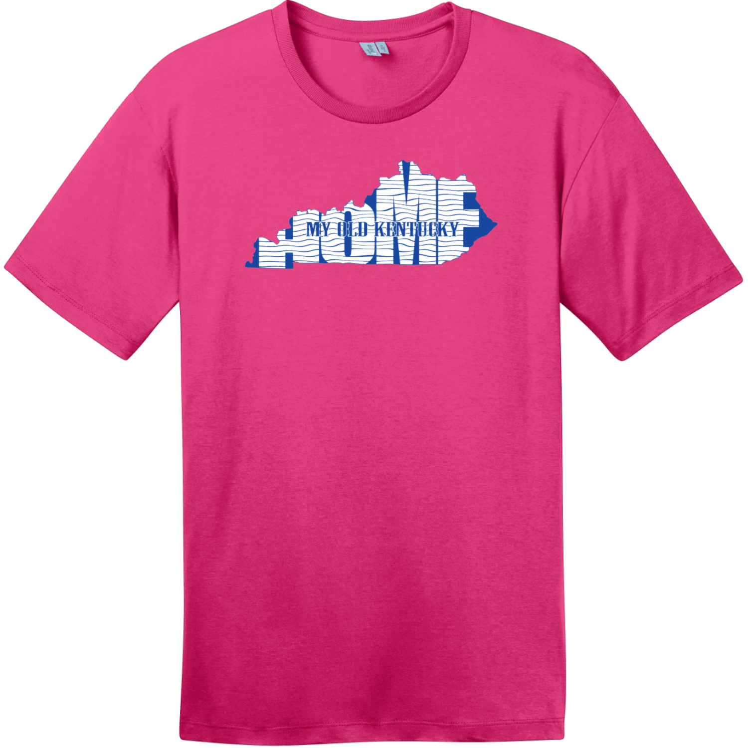 My Old Kentucky Home State T-Shirt Dark Fuchsia District Perfect Weight Tee DT104