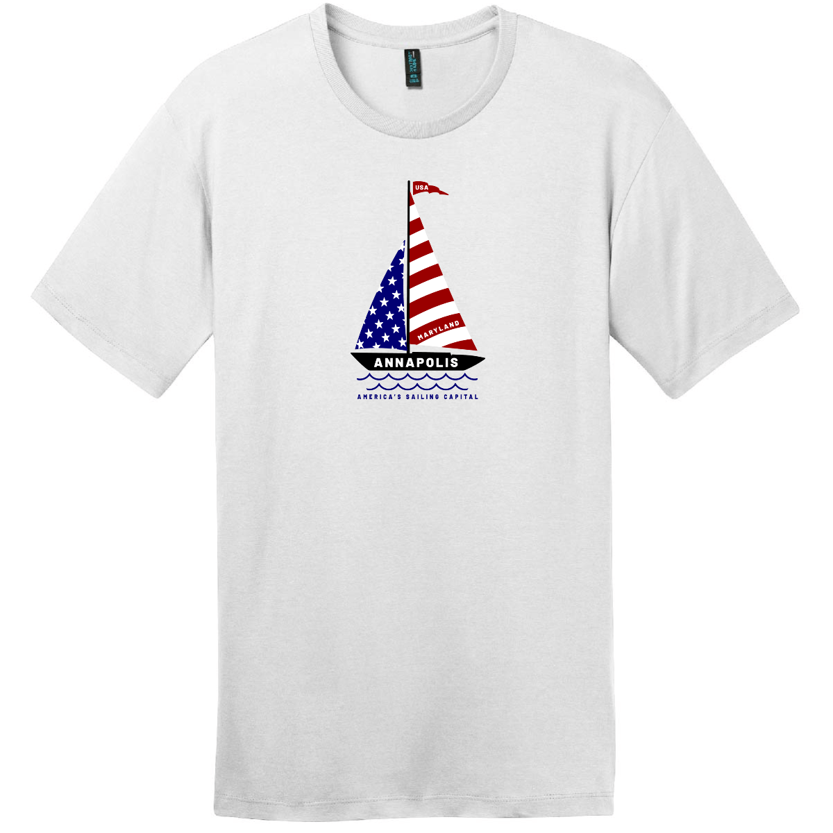 Annapolis Maryland America's Sailing Capital T Shirt