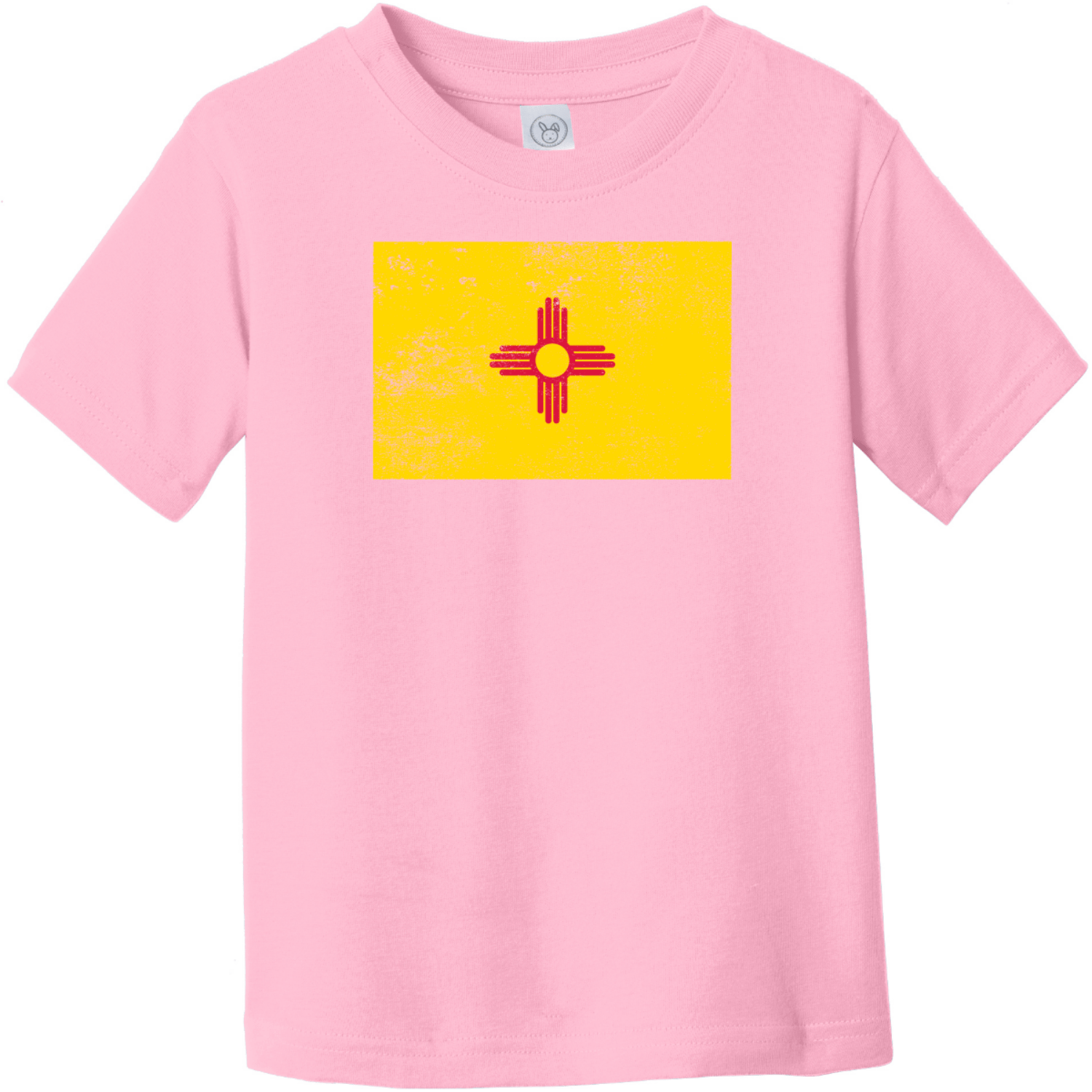 New Mexico Vintage Toddler T-Shirt Pink Rabbit Skins Toddler Fine Jersey Tee RS3321