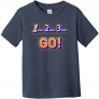 123 Go Toddler T Shirt
