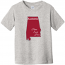 Alabama Home Sweet Home Toddler T Shirt