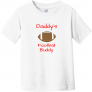 Daddy's Football Buddy Toddler T-Shirt
