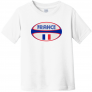 France Rugby Ball Toddler T-Shirt