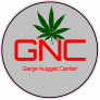 GNC Ganja Nugget Center Circle Sticker