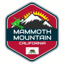Mammoth Mountain California Sticker