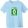 Mile 0 Key West Toddler T Shirt