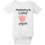 Mommy's Little Piglet Baby Bodysuit