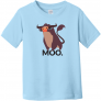 Moo Bull Toddler T-Shirt