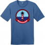Nantucket Maine Lighthouse Distressed T-Shirt
