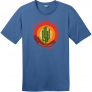Scottsdale Arizona Cactus Mountains Retro T-Shirt