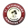 St. Petersburg Sunshine City Florida Sticker