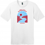 Suwanee Georgia River Retro T Shirt