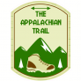 The Appalachian Trail Hiking Sticker