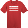 Washington DC Distressed Flag T-Shirt
