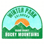 Winter Park Colorado Rocky Mountains Sticker
