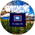 Wyoming The Cowboy State Sticker